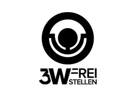 3W Freistellen black Logo